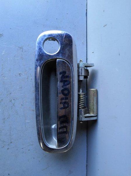 Ручка двери внешняя Toyota Nadia SXN10 1998 передняя правая (б/у)