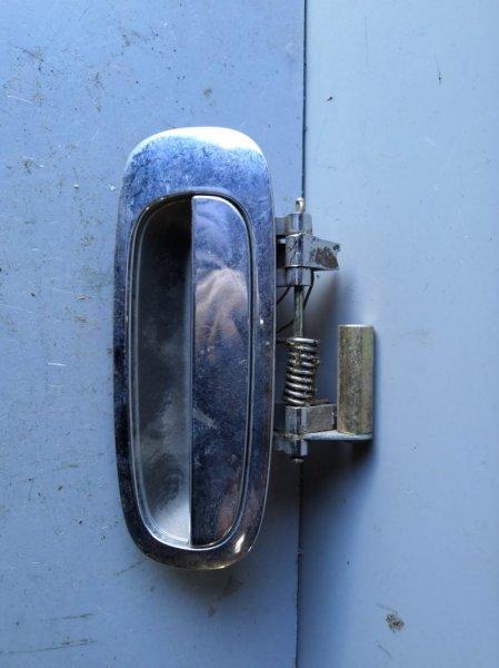 Ручка двери внешняя Toyota Nadia SXN10 1998 задняя правая (б/у)