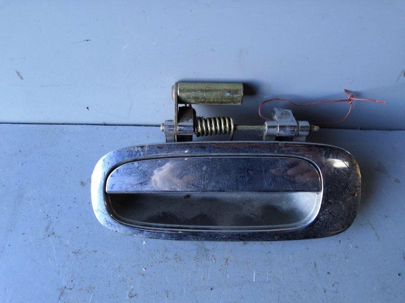 Ручка двери внешняя Toyota Nadia SXN10 1998 задняя левая (б/у)