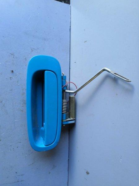 Ручка двери внешняя Toyota Will Cypha NCP70 2002 задняя правая (б/у)