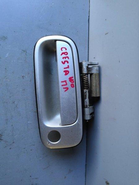 Ручка двери внешняя Toyota Mark Ii GX100 1995 передняя левая (б/у)