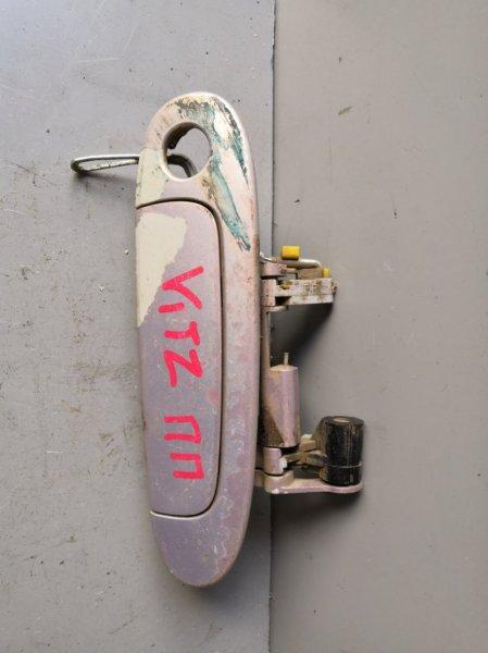 Ручка двери внешняя Toyota Vitz NCP10 1999 передняя правая (б/у)