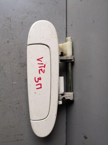 Ручка двери внешняя Toyota Vitz NCP10 1999 задняя правая (б/у)
