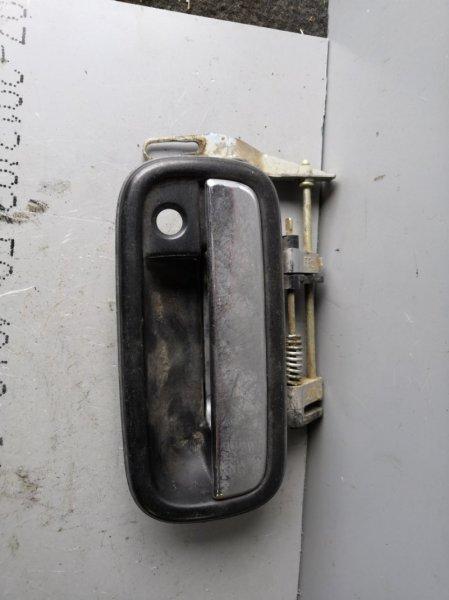 Ручка двери внешняя Toyota Land Cruiser Prado VZJ 95 1996 передняя правая (б/у)