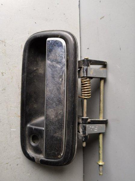 Ручка двери внешняя Toyota Land Cruiser Prado VZJ 95 1996 передняя левая (б/у)