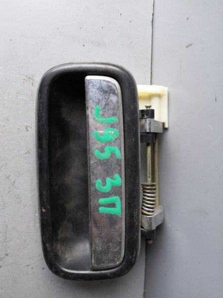 Ручка двери внешняя Toyota Land Cruiser Prado VZJ 95 1996 задняя правая (б/у)