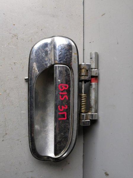 Ручка двери внешняя Nissan Sunny FB15 1998 задняя правая (б/у)