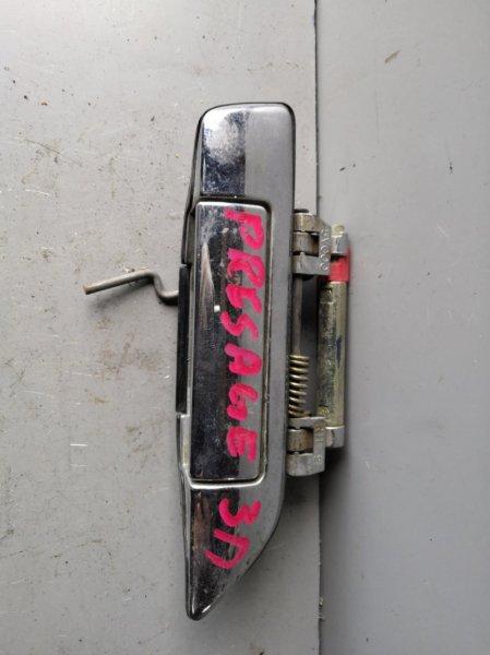 Ручка двери внешняя Nissan Presage U30 1998 задняя правая (б/у)