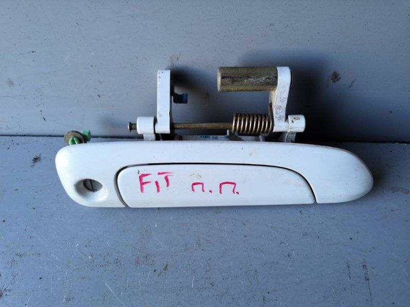 Ручка двери внешняя Honda Fit GD1 2001 передняя правая (б/у)