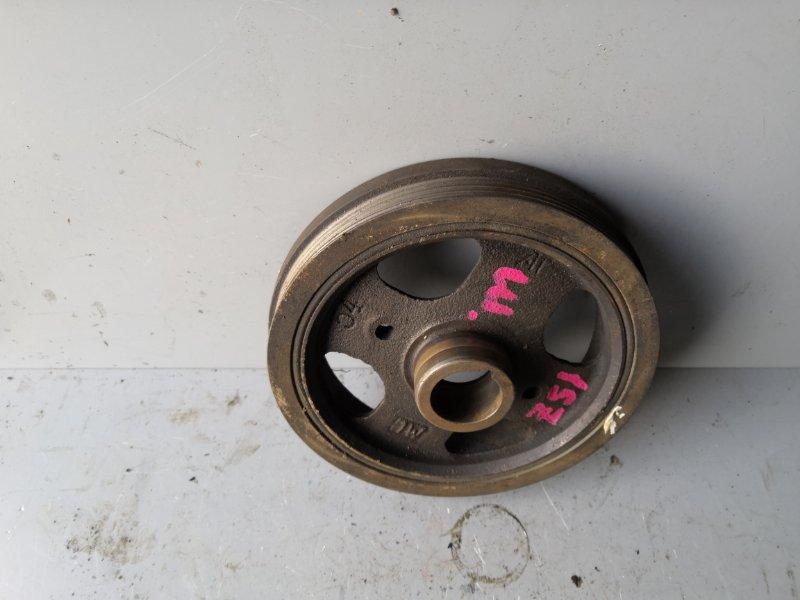 Шкив коленвала Toyota Vitz SCP10 1SZ 1999 передний (б/у)