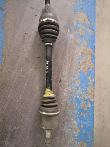 Привод Chery M11 M11 SQR481 2010 передний левый (б/у)