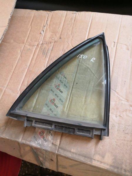 Форточка двери Toyota Corolla E150 2006 задняя правая (б/у)