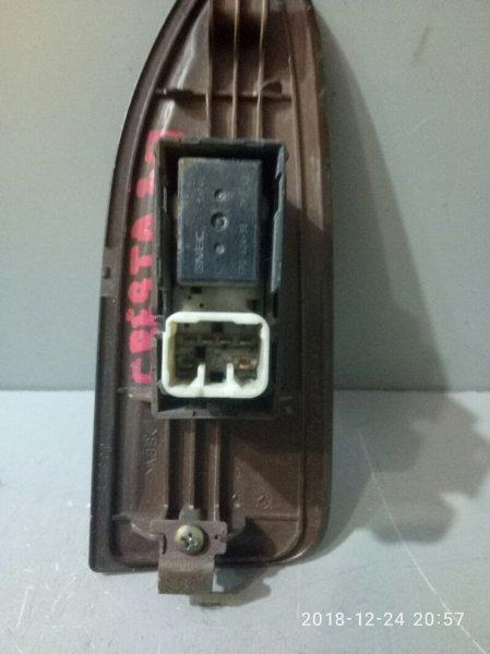 Кнопка стеклоподъемника Toyota Cresta GX100 1G FE 1996 задняя правая (б/у)