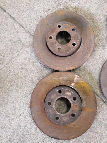 Тормозной диск Ford Focus 3 CB8 2010 передний (б/у)