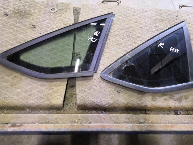 Форточка Ford Focus 3 CB8 2010 задняя правая (б/у)