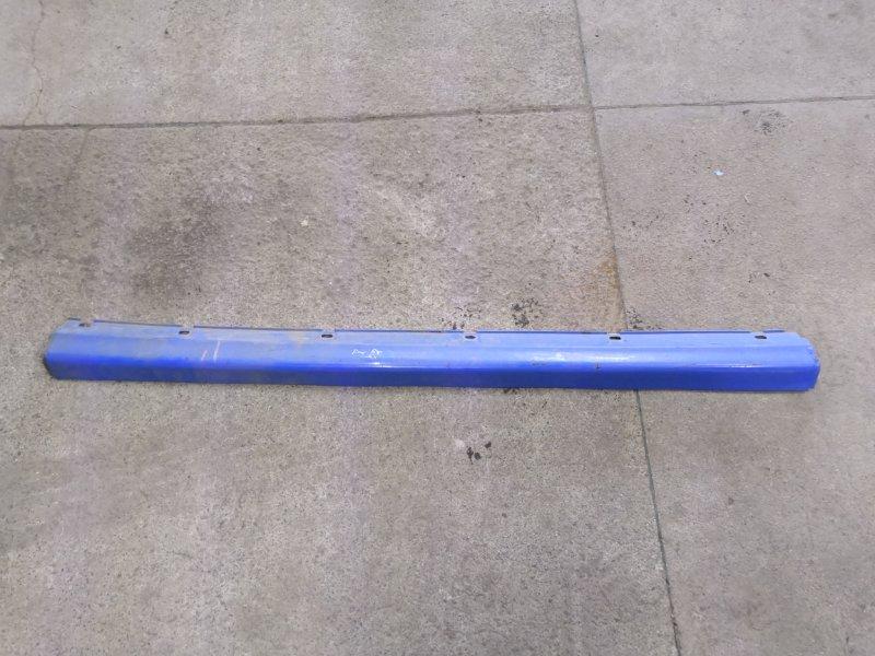Накладка на порог Chery Sweet Qq S11 2005 левая (б/у)