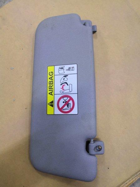 Козырек солнцезащитный Hyundai Solaris RB 2011 передний правый (б/у)