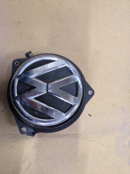 Эмблема Volkswagen Golf MK6 CAXA 2009 задняя (б/у)