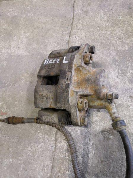 Суппорт Lifan Breez 520 2007 передний левый (б/у)