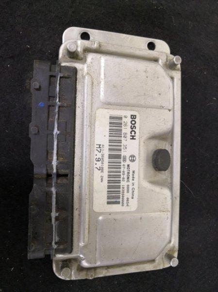 Блок управления двс Chery Tiggo T11 SQR484 2008 (б/у)