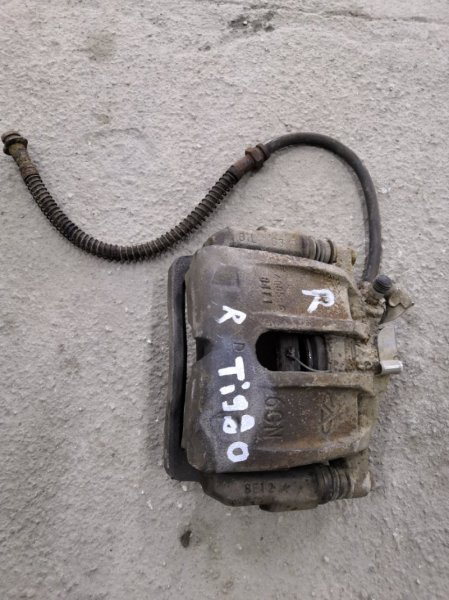 Суппорт Chery Tiggo T11 2008 передний правый (б/у)