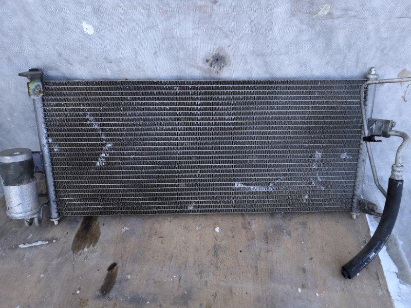 Радиатор кондиционера Nissan Primera P12 QR20 2002 передний (б/у)