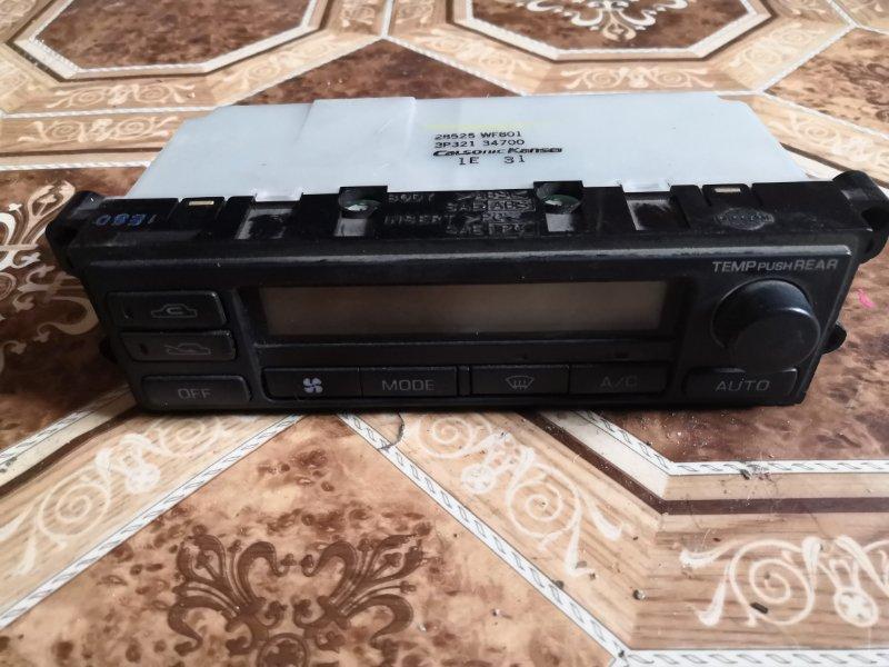 Блок управления климат-контролем Nissan Liberty M12 QR20 1998 передний (б/у)