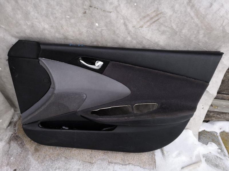Обшивка двери Nissan Primera P12 2002 передняя правая (б/у)