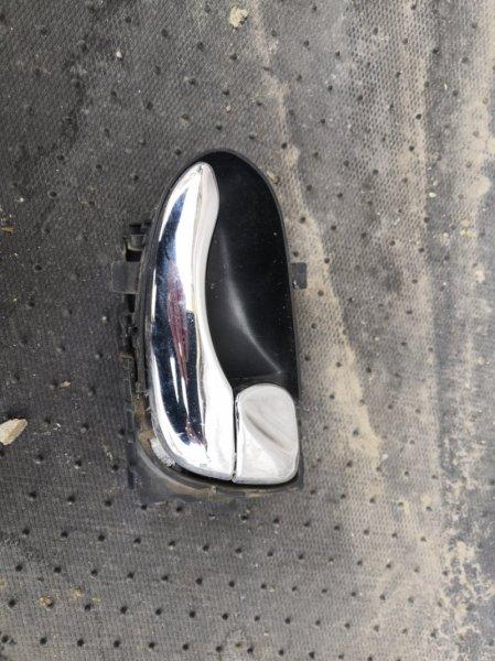 Ручка двери внутренняя Nissan Primera P12 QR20 2002 задняя правая (б/у)
