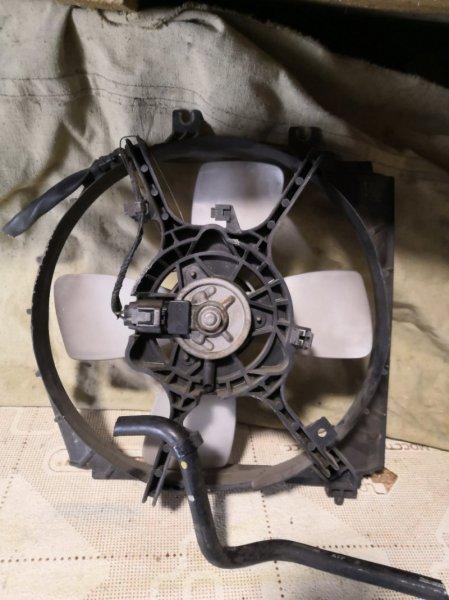 Вентилятор радиатора Mazda Familia BJ5P 1998 передний (б/у)