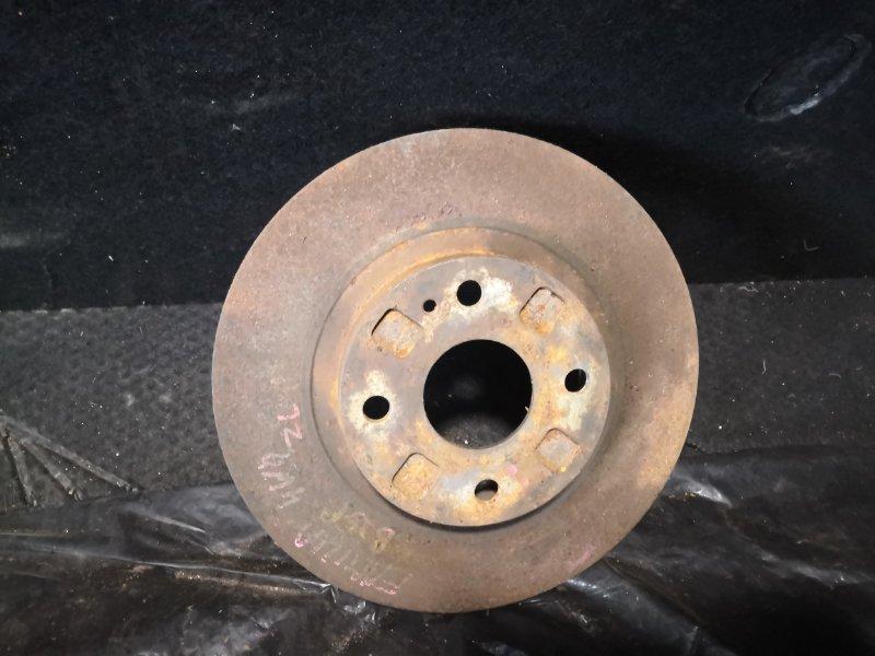 Тормозной диск Mazda Familia BJ5W ZL 1998 передний (б/у)