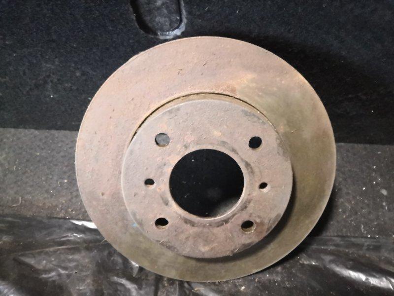 Тормозной диск Nissan Bluebird U14 1996 передний (б/у)