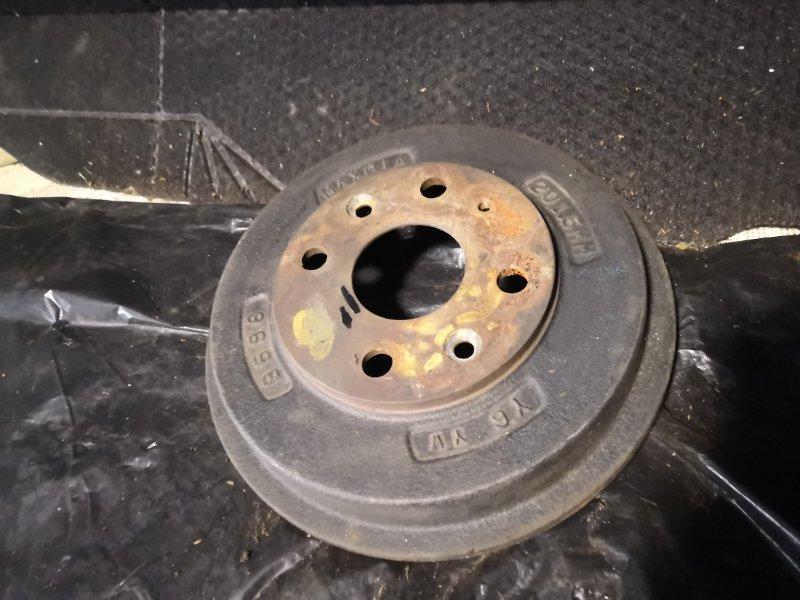Тормозной барабан Mazda Familia BJ5P 1998 задний (б/у)