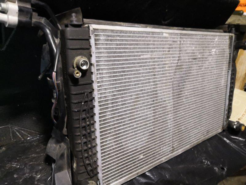 Радиатор двс Volkswagen Passat B5 1996 передний (б/у)