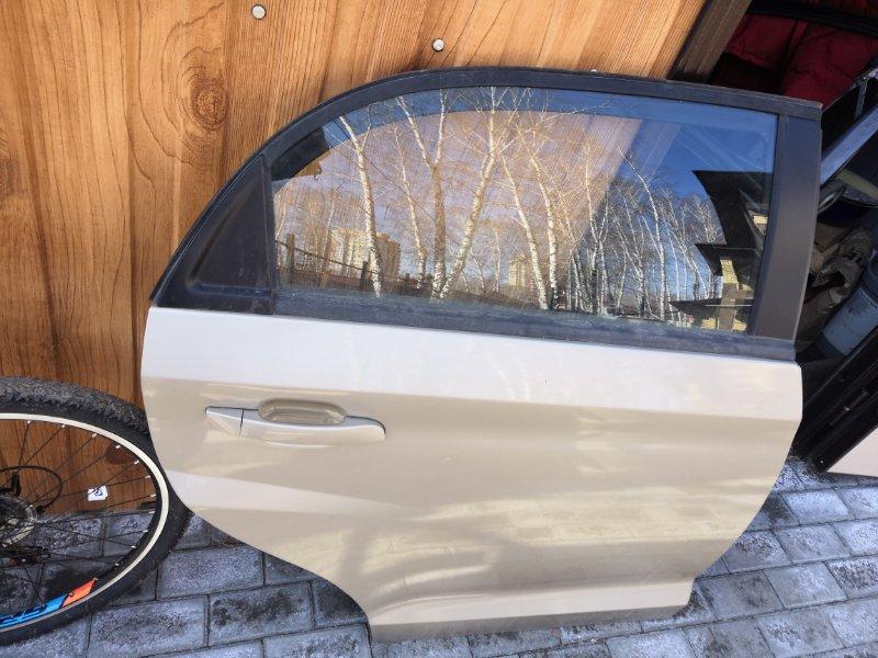 Дверь Chery Bonus A13 A13 2010 задняя правая (б/у)