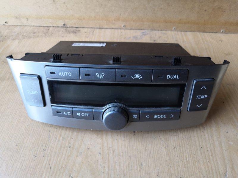 Блок управления климат-контролем Toyota Avensis T250 2003 (б/у)