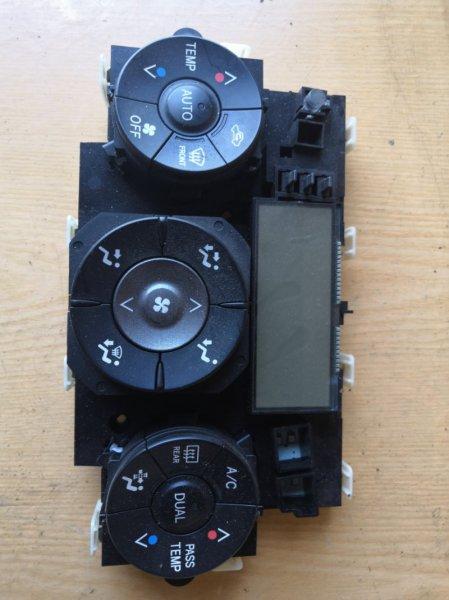 Блок управления климат-контролем Toyota Rav4 X30 2006 (б/у)