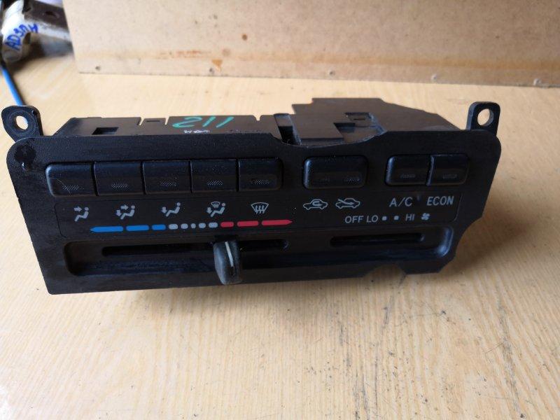 Блок управления климат-контролем Toyota Corona Premio T210 1996 передний (б/у)
