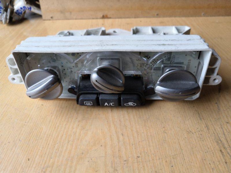 Блок управления климат-контролем Mitsubishi Colt Z25A 2002 передний (б/у)