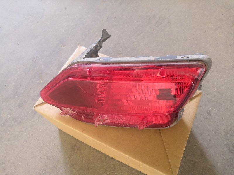 Фонарь противотуманный Toyota Rav4 X40 2013 задний правый (б/у)
