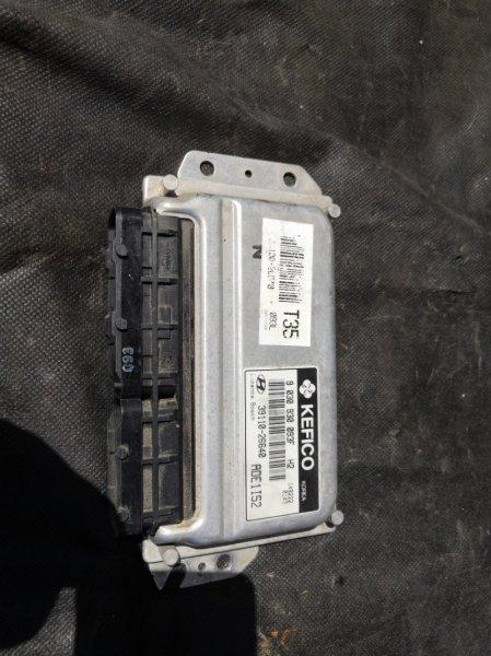 Блок управления двс Hyundai Accent LC G4EC 1999 (б/у)