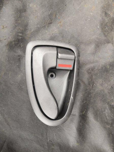 Ручка двери внутренняя Hyundai Accent LC G4EC 1999 задняя правая (б/у)