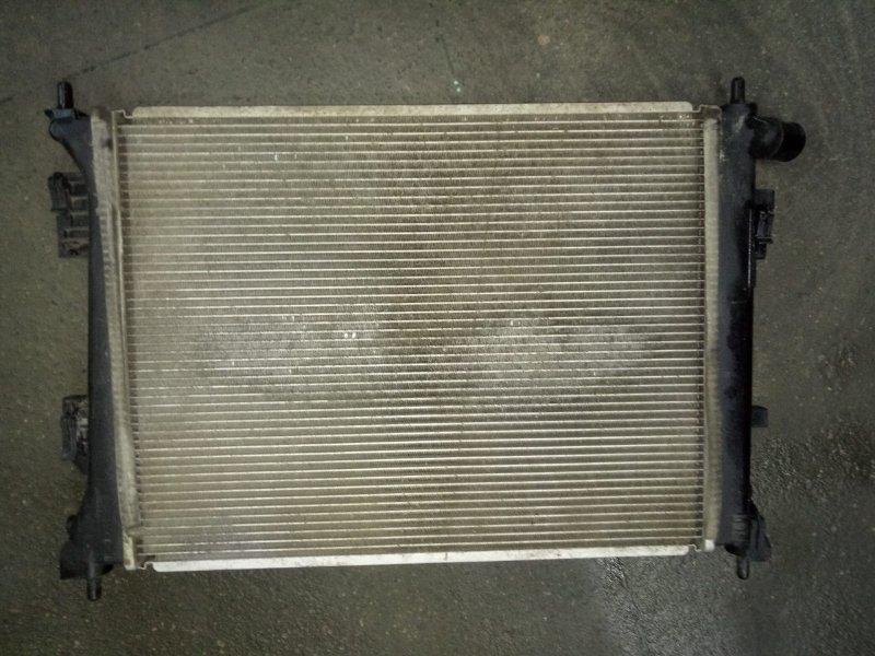 Радиатор двс Kia Rio QB 2011 (б/у)