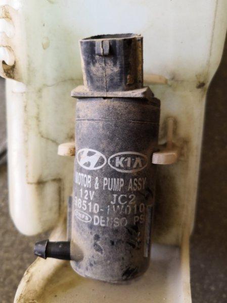 Мотор омывателя Kia Rio QB G4FC 2011 (б/у)