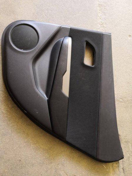 Обшивка двери Kia Rio QB G4FC 2011 задняя правая (б/у)