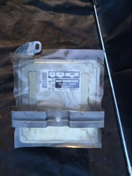 Блок управления двс Toyota Rav4 XA10 3S-FE 1994 (б/у)