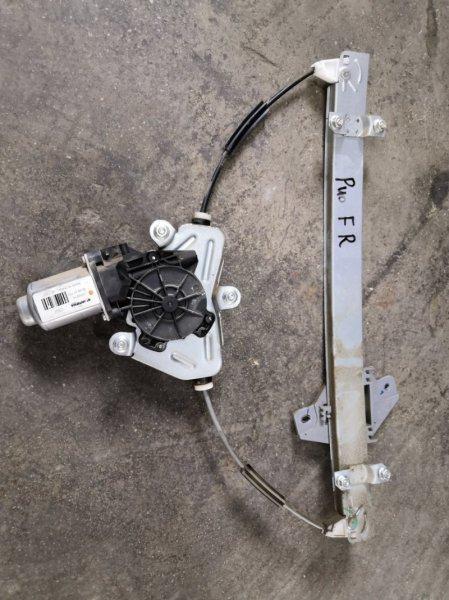 Стеклоподъемник Kia Rio QB G4FC 2011 передний правый (б/у)