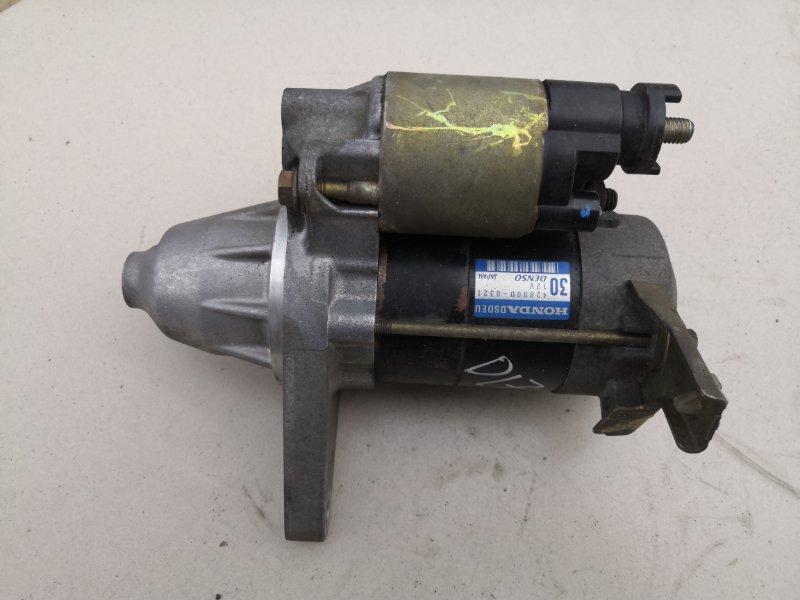 Стартер Honda Stream RN1 D17A 2000 (б/у)