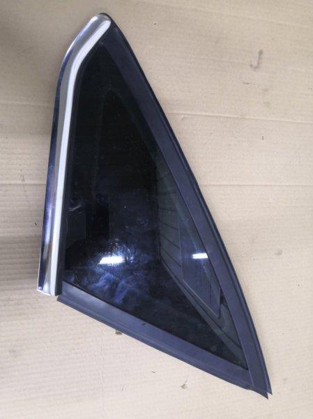 Форточка Ford Focus 3 CB8 IQDB 2010 задняя правая (б/у)