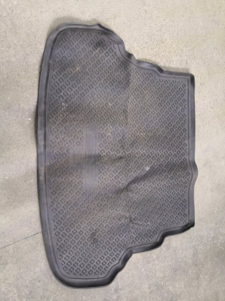 Коврик багажника Hyundai Solaris RB G4FC 2011 задний (б/у)